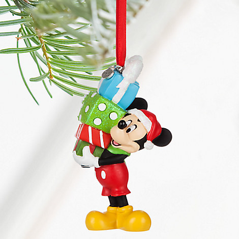 Mickey Mouse Sketchbook Ornament - Personalizable