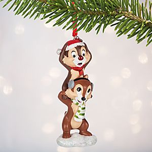 Chip n Dale Sketchbook Ornament - Personalizable