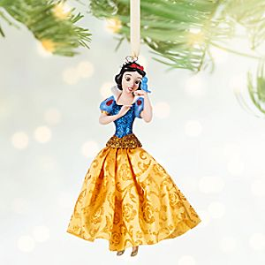 Snow White Sketchbook Ornament - Personalizable