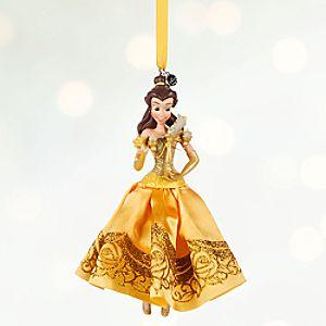 Belle Sketchbook Ornament - Personalizable