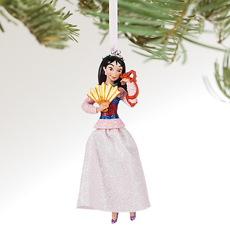 Mulan Sketchbook Ornament - Personalizable