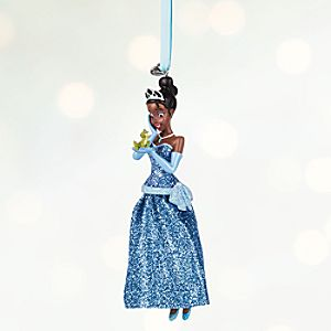 Tiana Sketchbook Ornament - Personalizable