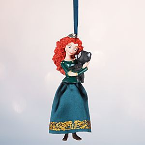 Merida Sketchbook Ornament - Personalizable