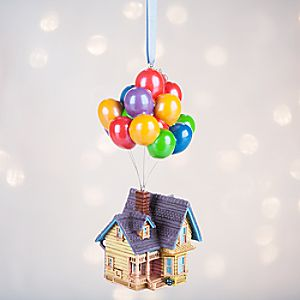 Up House Sketchbook Ornament - Personalizable