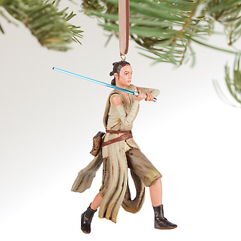 Rey Sketchbook Ornament - Star Wars: The Force Awakens - Personalizable