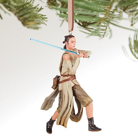 Rey Sketchbook Ornament - Star Wars: The Force Awakens