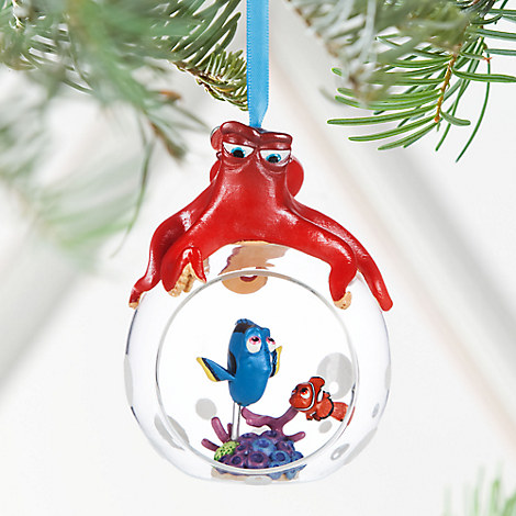 Finding Dory Glass Globe Sketchbook Ornament - Personalizable
