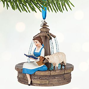 Belle Singing Sketchbook Ornament - Personalizable