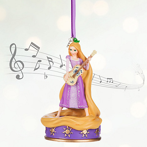 Rapunzel Singing Sketchbook Ornament - Personalizable