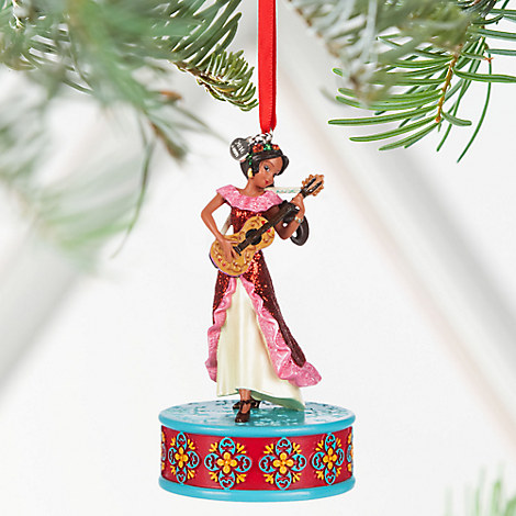 Elena of Avalor Singing Sketchbook Ornament - Personalizable