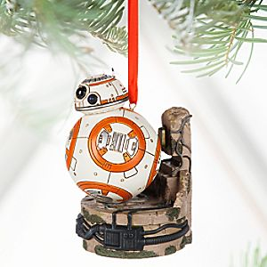 BB-8 Light-Up Sketchbook Ornament - Star Wars: The Force Awakens - Personalizable