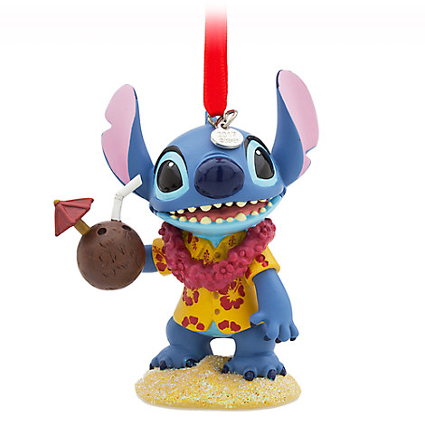 Stitch Sketchbook Ornament