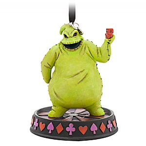Oogie Boogie Sketchbook Ornament - Glow-in-the-Dark