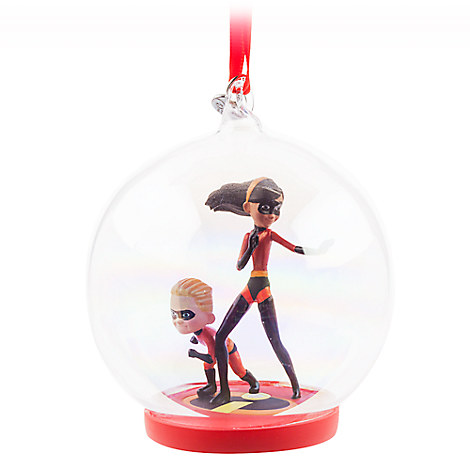 The Incredibles Glass Globe Sketchbook Ornament