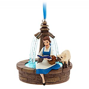 Belle Singing Sketchbook Ornament