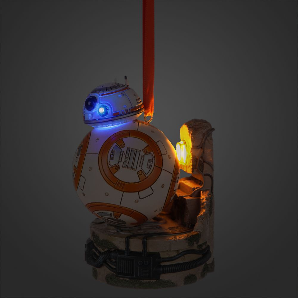 BB-8 Light-Up Sketchbook Ornament – Star Wars: The Force Awakens