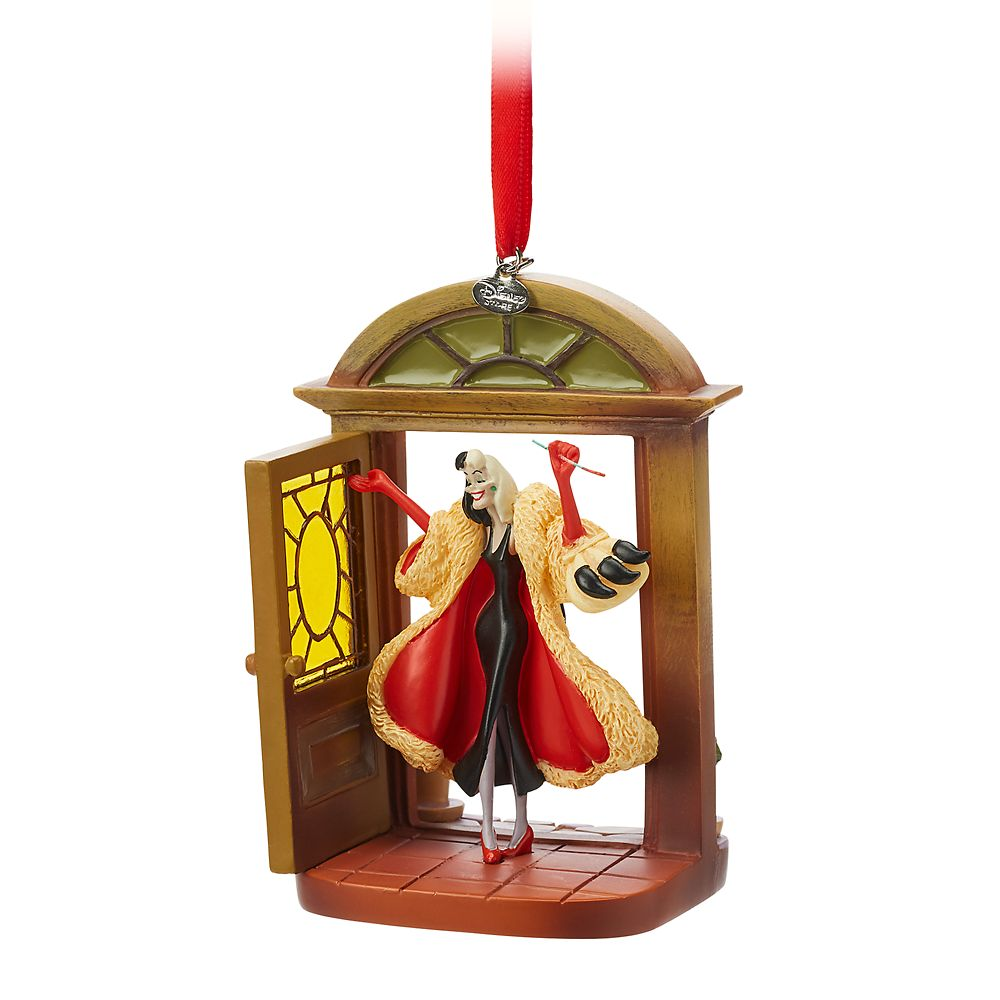 Cruella De Vil Sketchbook Ornament – 101 Dalmatians