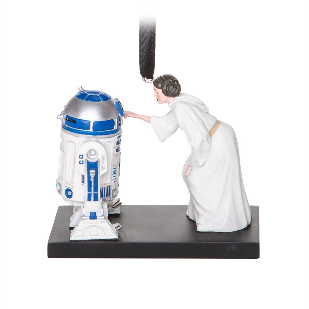 Princess Leia and R2-D2 Sketchbook Ornament – Star Wars