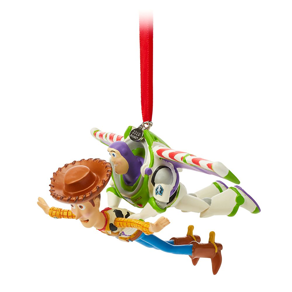 Buzz and Woody Sketchbook Ornament – Toy Story