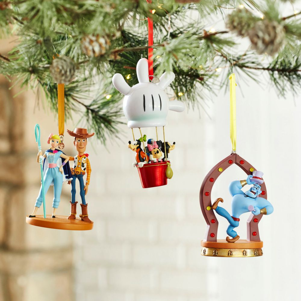 Genie Sketchbook Ornament – Aladdin