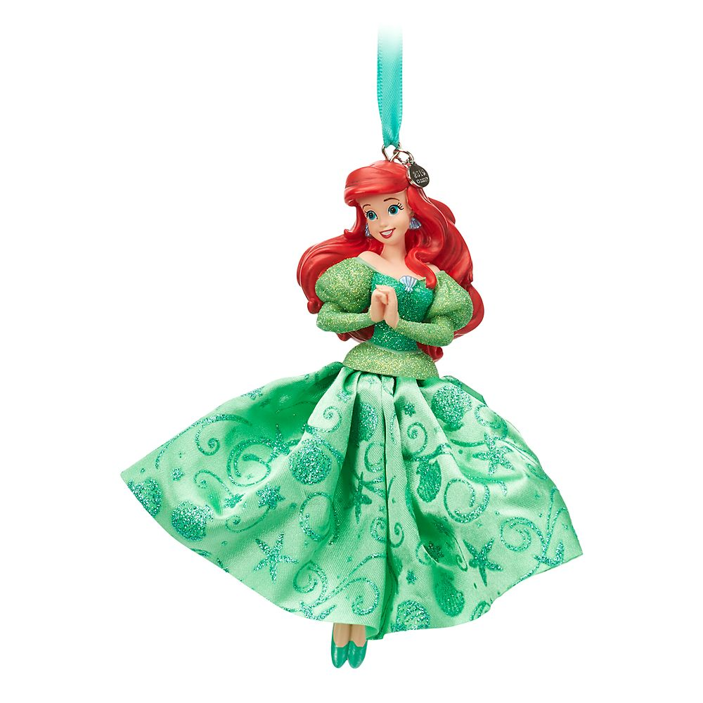 Ariel Sketchbook Ornament  The Little Mermaid Official shopDisney