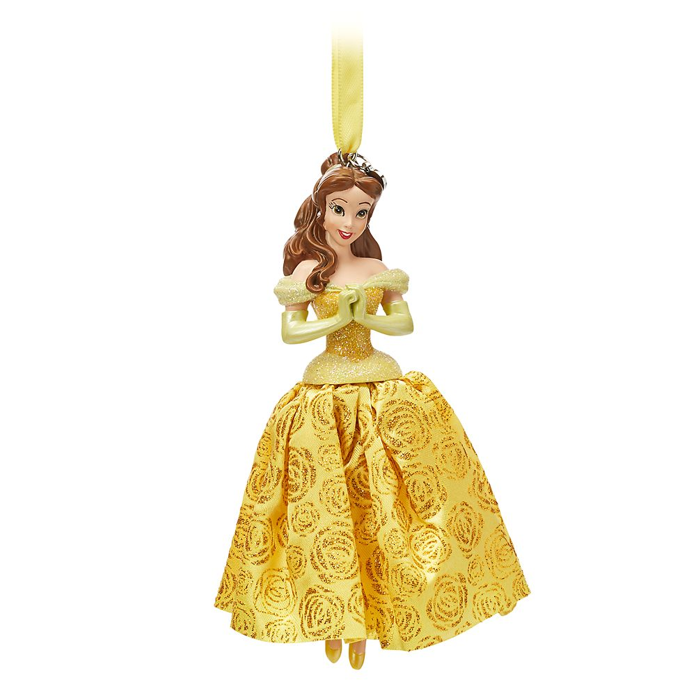 Belle Sketchbook Ornament – Beauty and the Beast