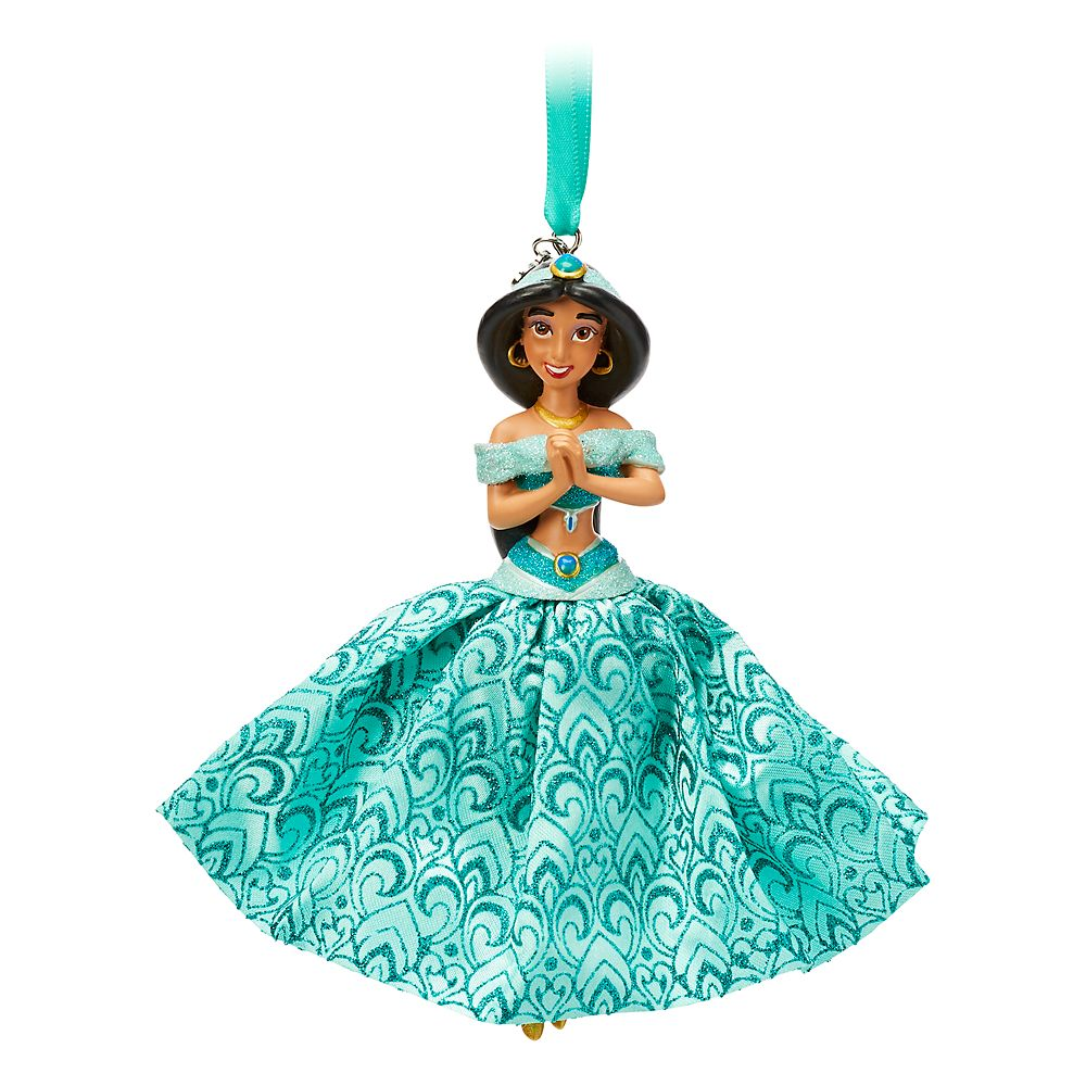Jasmine Sketchbook Ornament – Aladdin