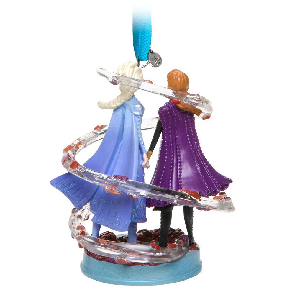 Anna and Elsa Sketchbook Ornament – Frozen 2