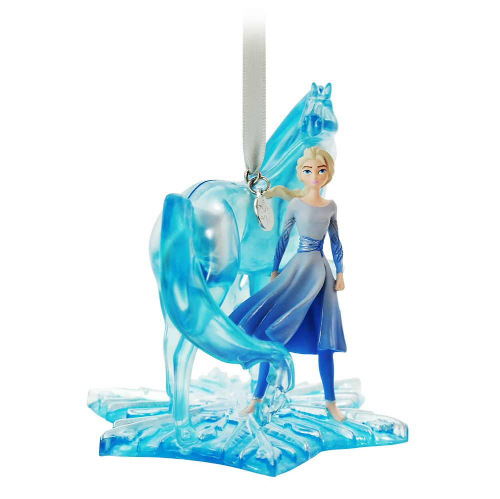 Elsa and Nokk Fairytale Moments Sketchbook Ornament – Frozen 2