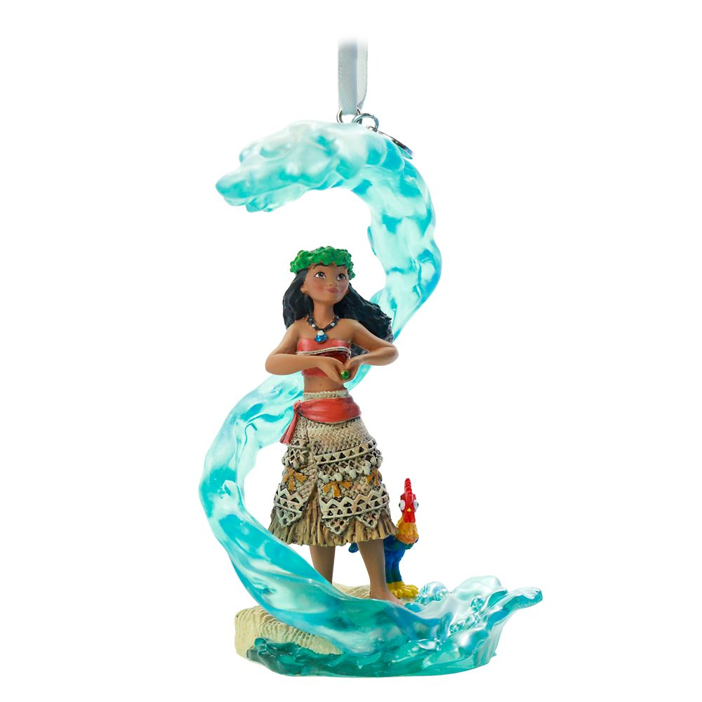 Moana Fairytale Moments Sketchbook Ornament