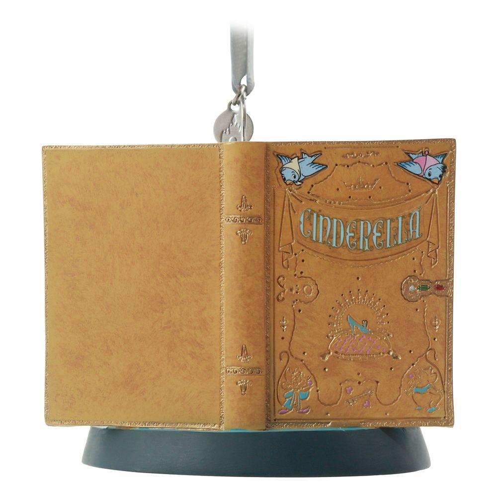 Cinderella Fairytale Moments Sketchbook Ornament