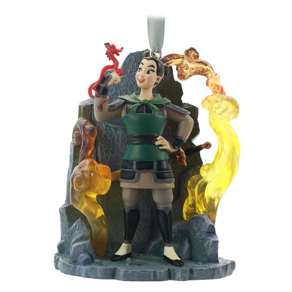 Mulan Fairytale Moments Sketchbook Ornament