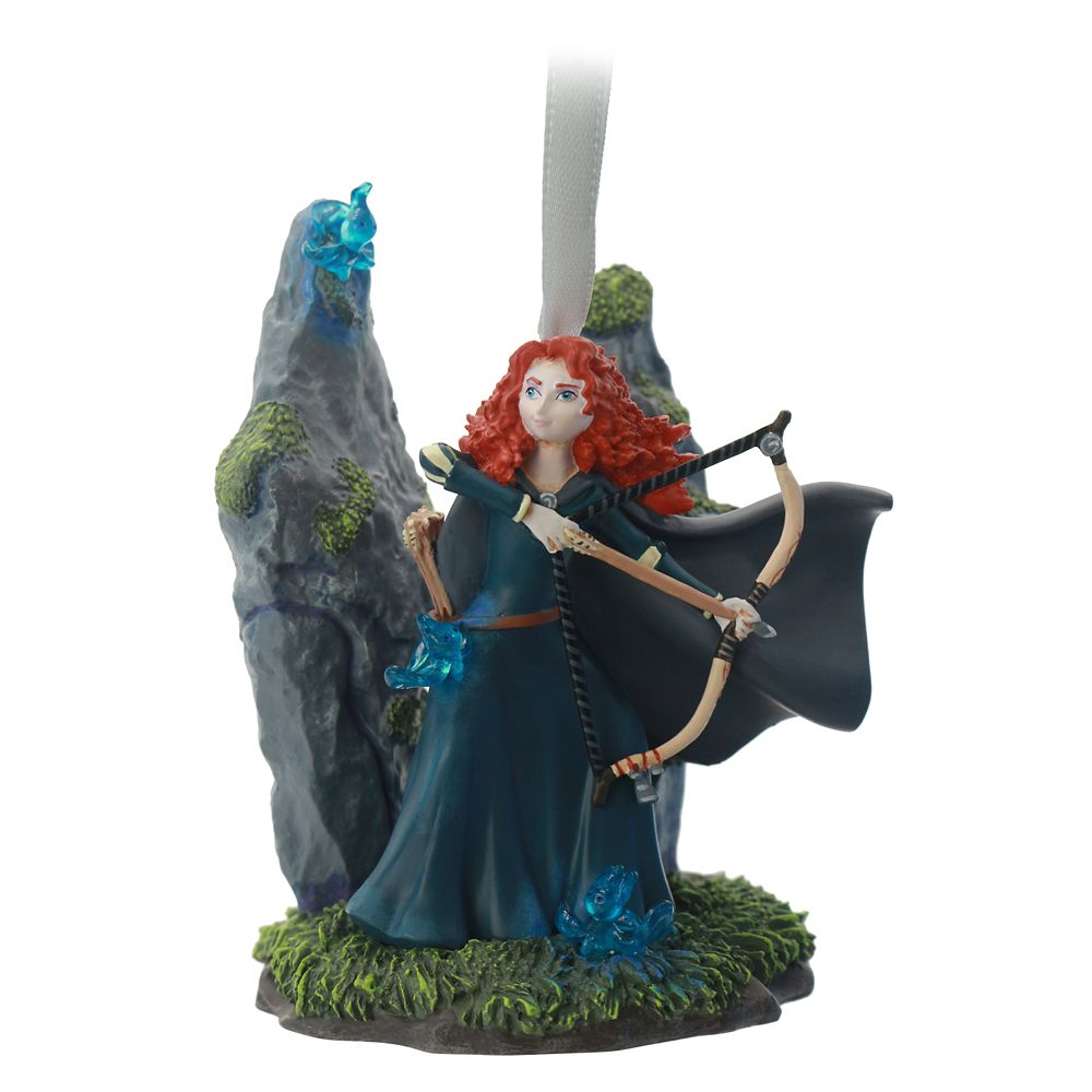 Merida Fairytale Moments Sketchbook Ornament – Brave