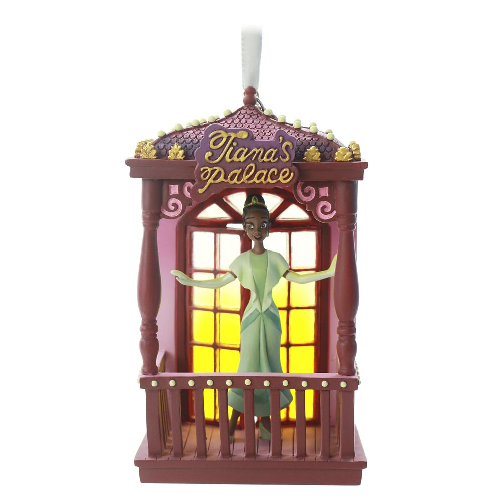 Tiana Fairytale Moments Sketchbook Ornament – The Princess and the Frog