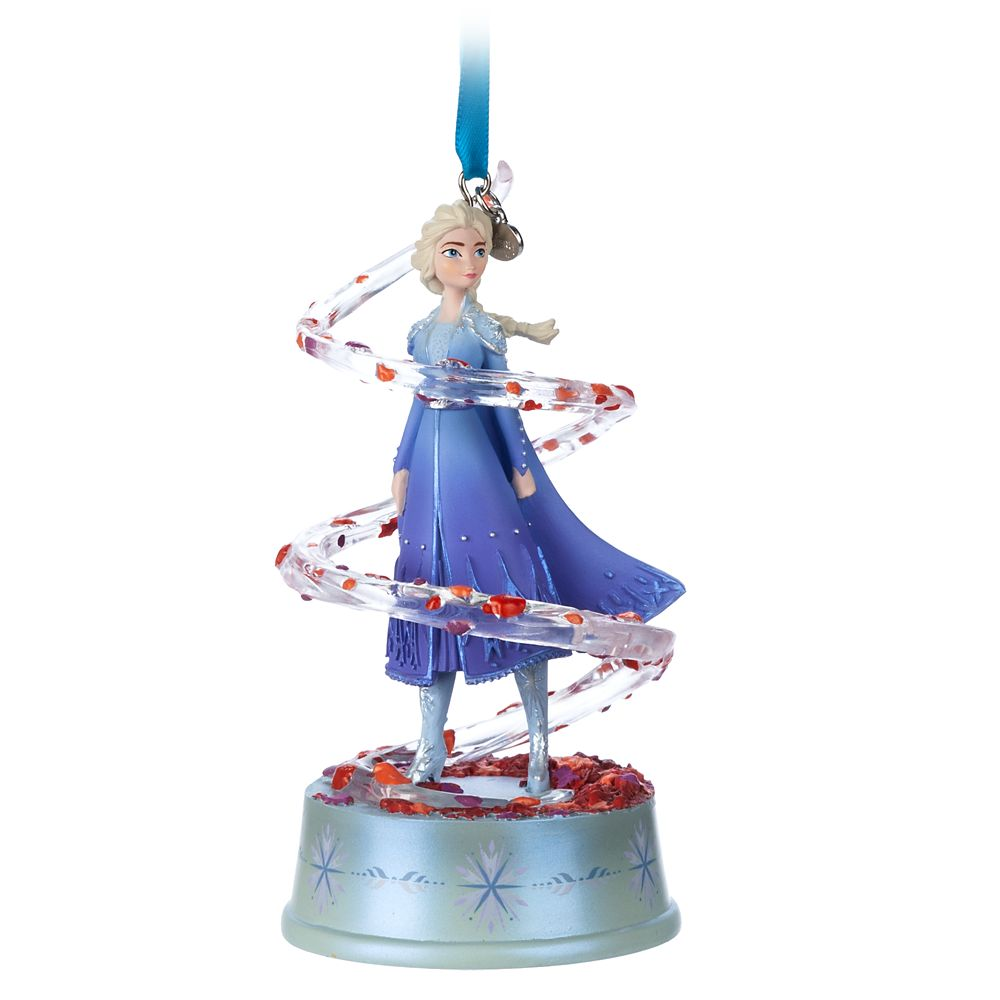 Elsa Singing Living Magic Sketchbook Ornament – Frozen 2