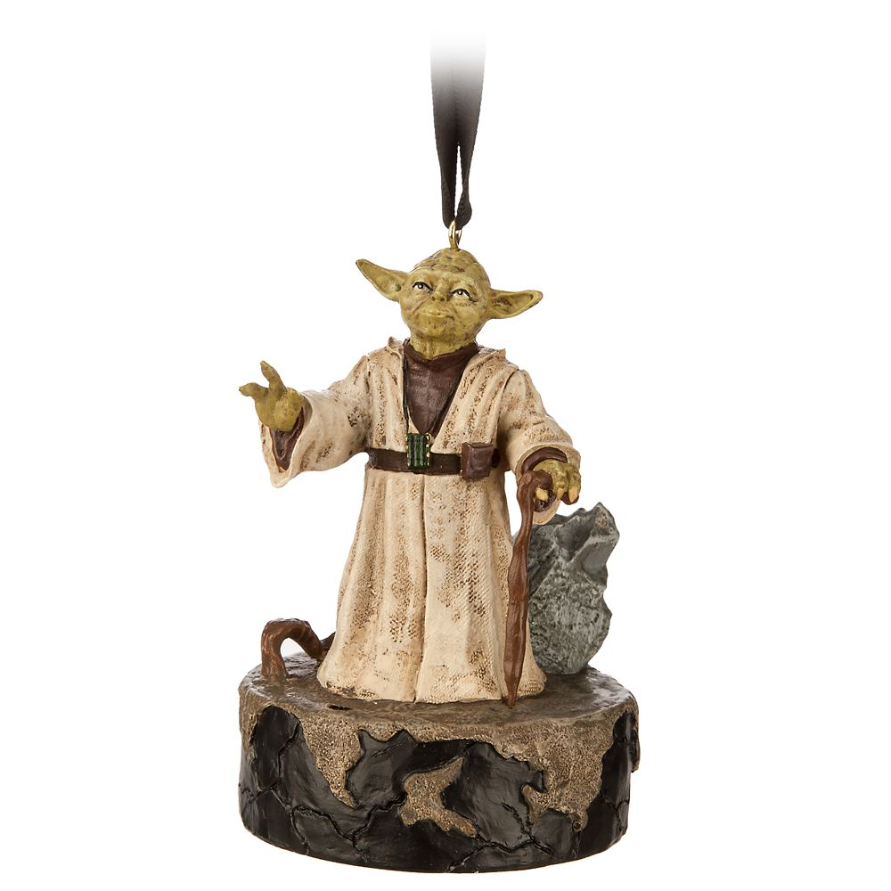 Yoda Talking Living Magic Sketchbook Ornament – Star Wars