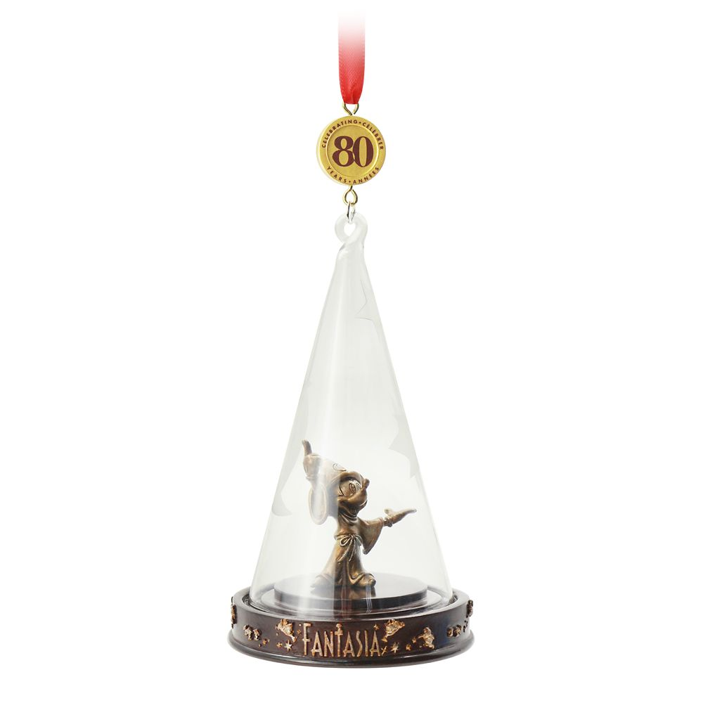 Fantasia 80th Anniversary Legacy Sketchbook Ornament