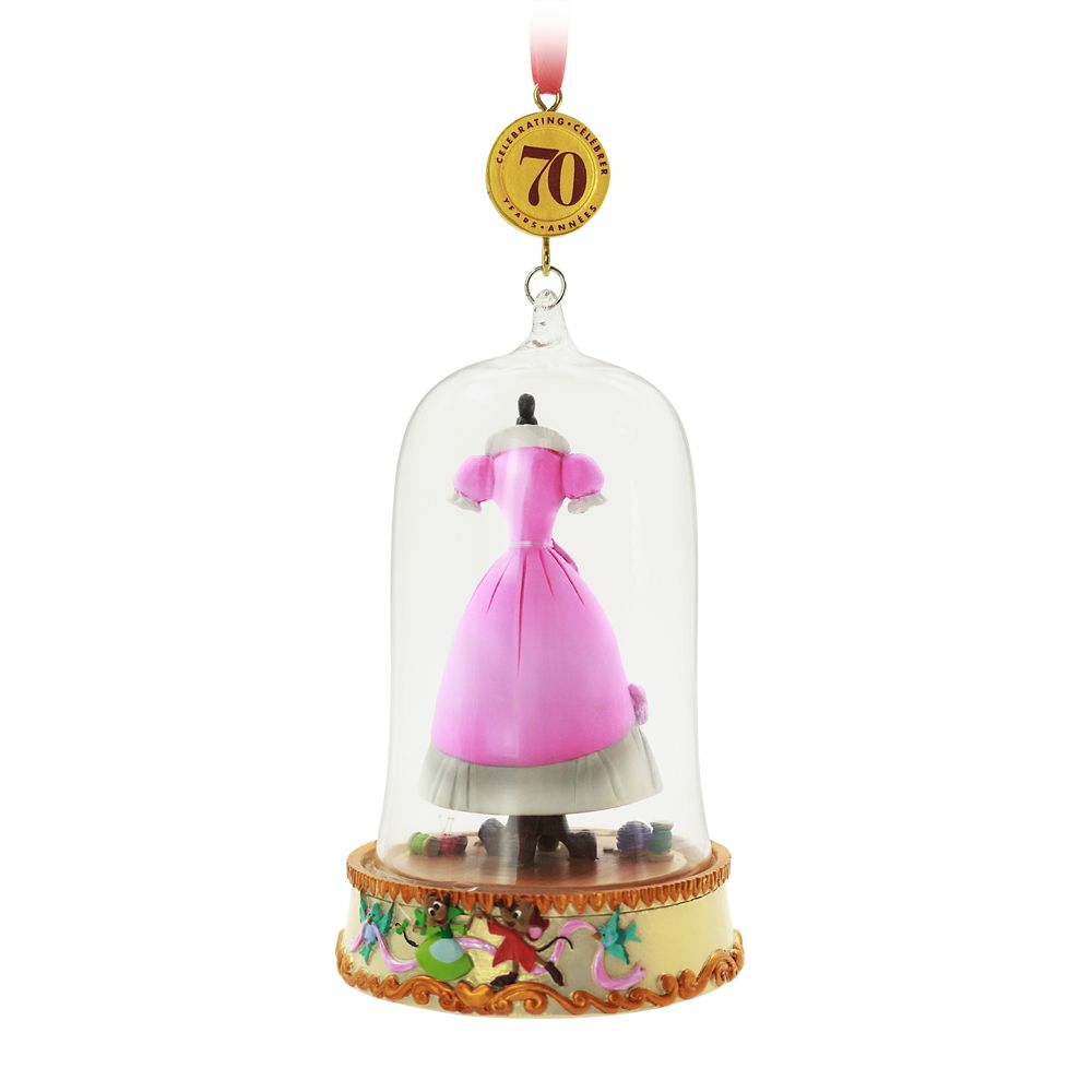 Cinderella Legacy Sketchbook Ornament – 70th Anniversary – Limited Release