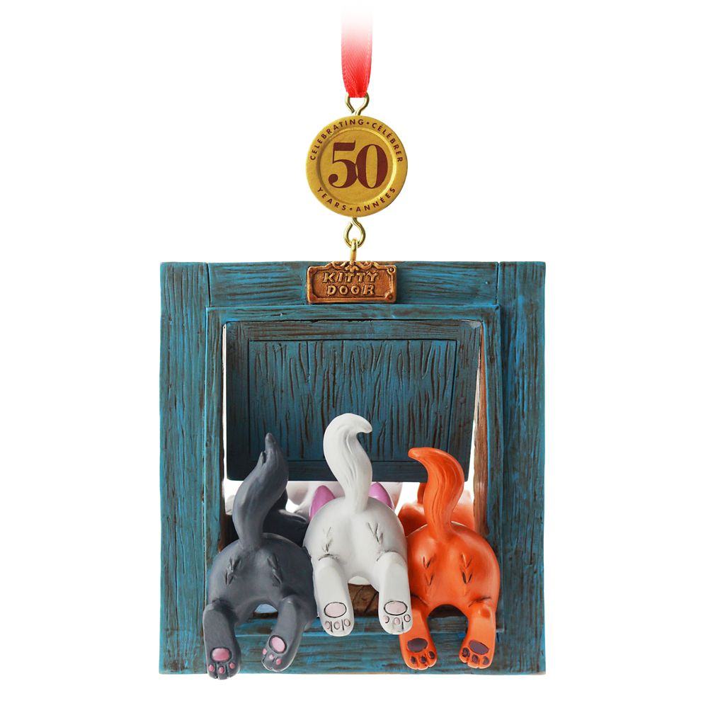 The Aristocats 50th Anniversary Legacy Sketchbook Ornament