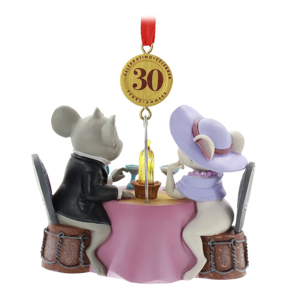 The Rescuers Down Under Legacy Sketchbook Ornament – 30th Anniversary – Limited Release