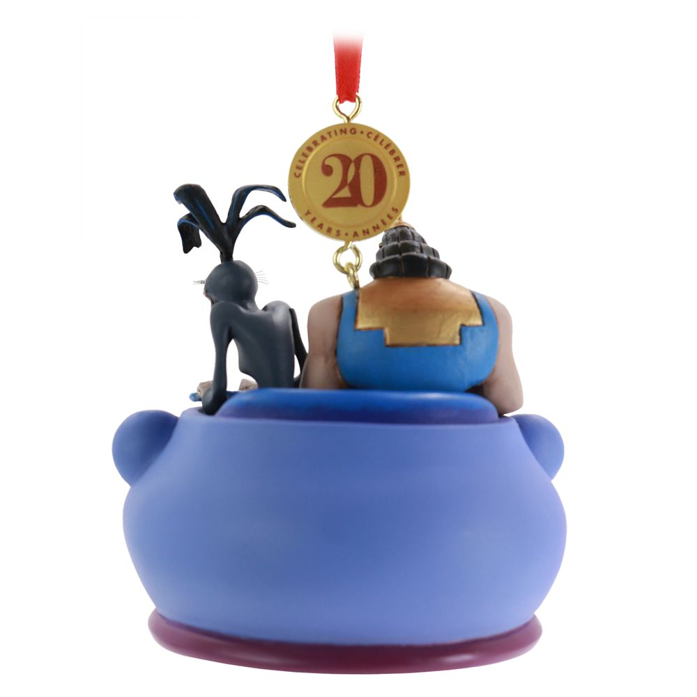The Emperor's New Groove Legacy Sketchbook Ornament – 20th Anniversary – Limited Release