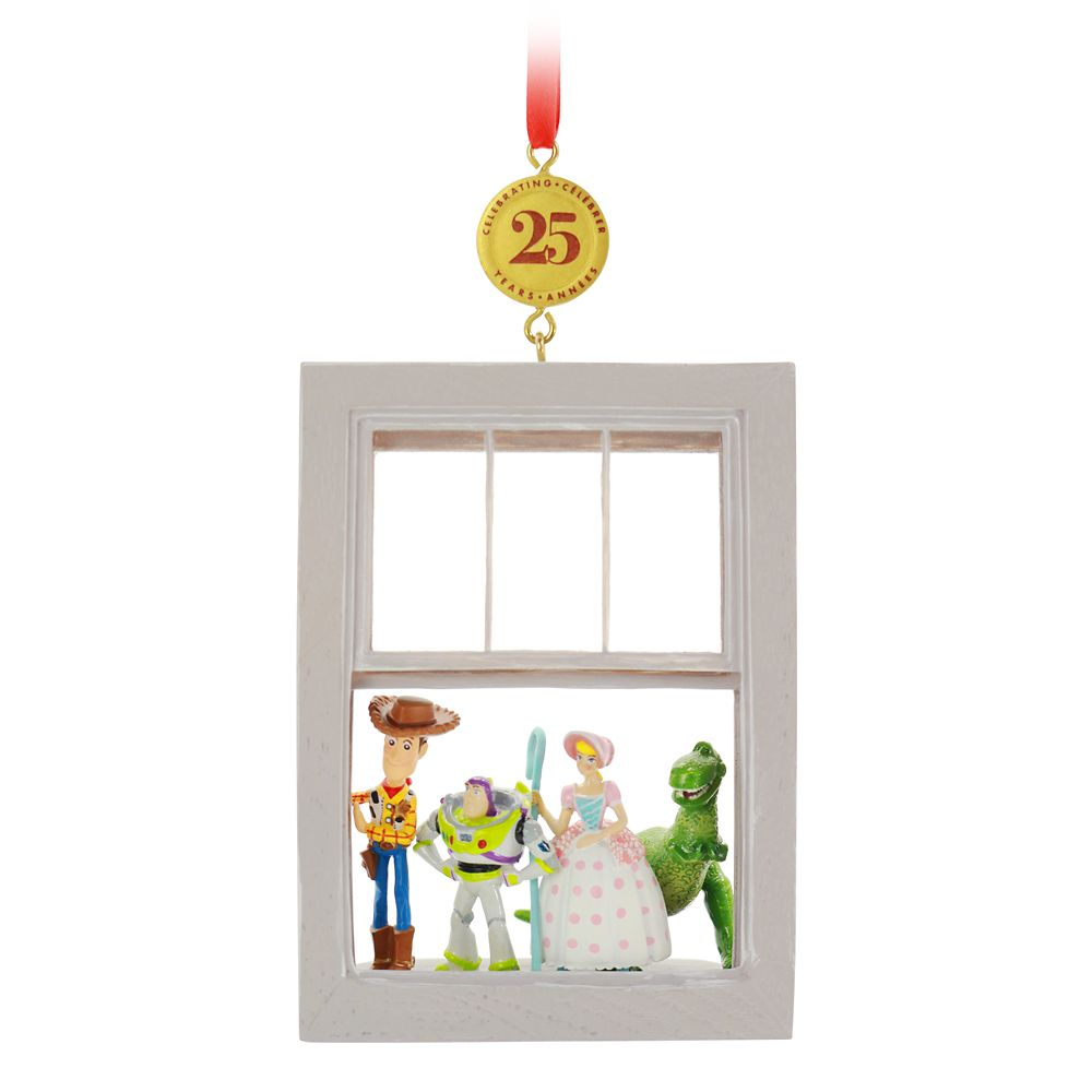Toy Story 25th Anniversary Legacy Sketchbook Ornament