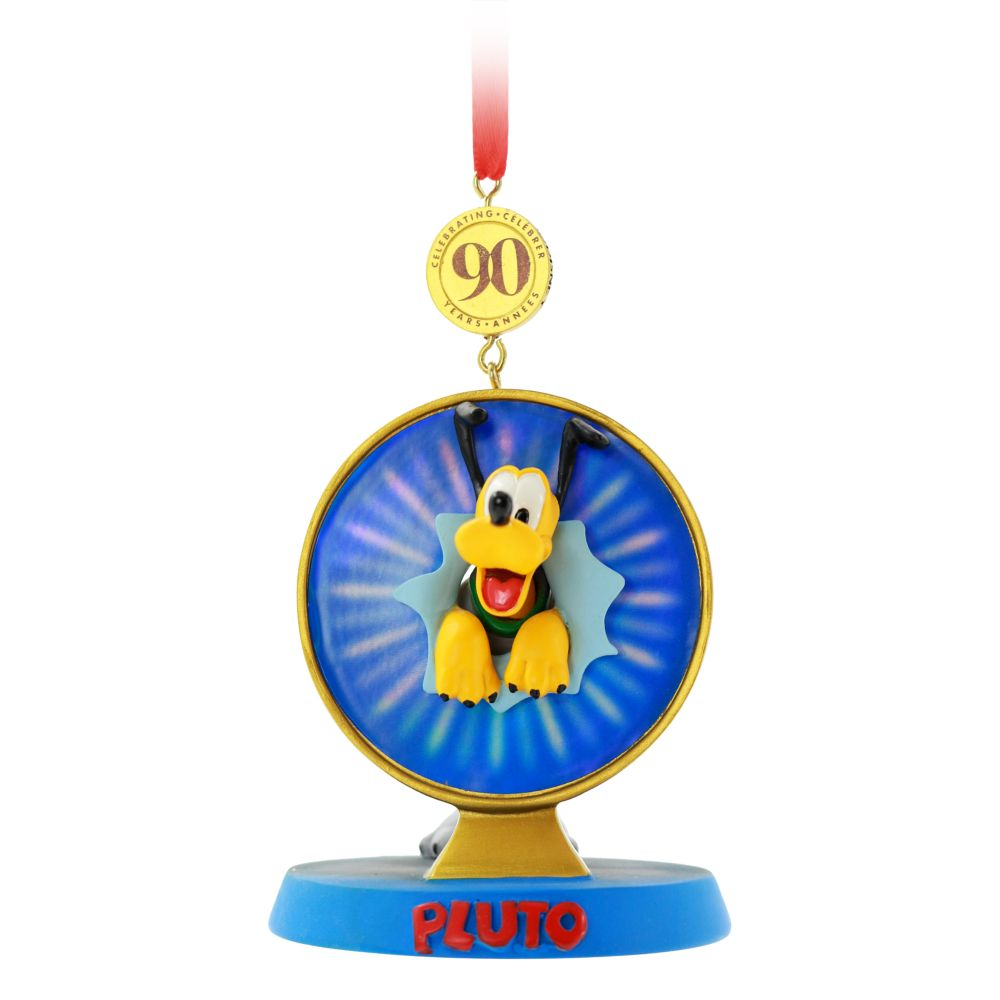 Pluto Legacy Sketchbook Ornament – 90th Anniversary – Limited Release