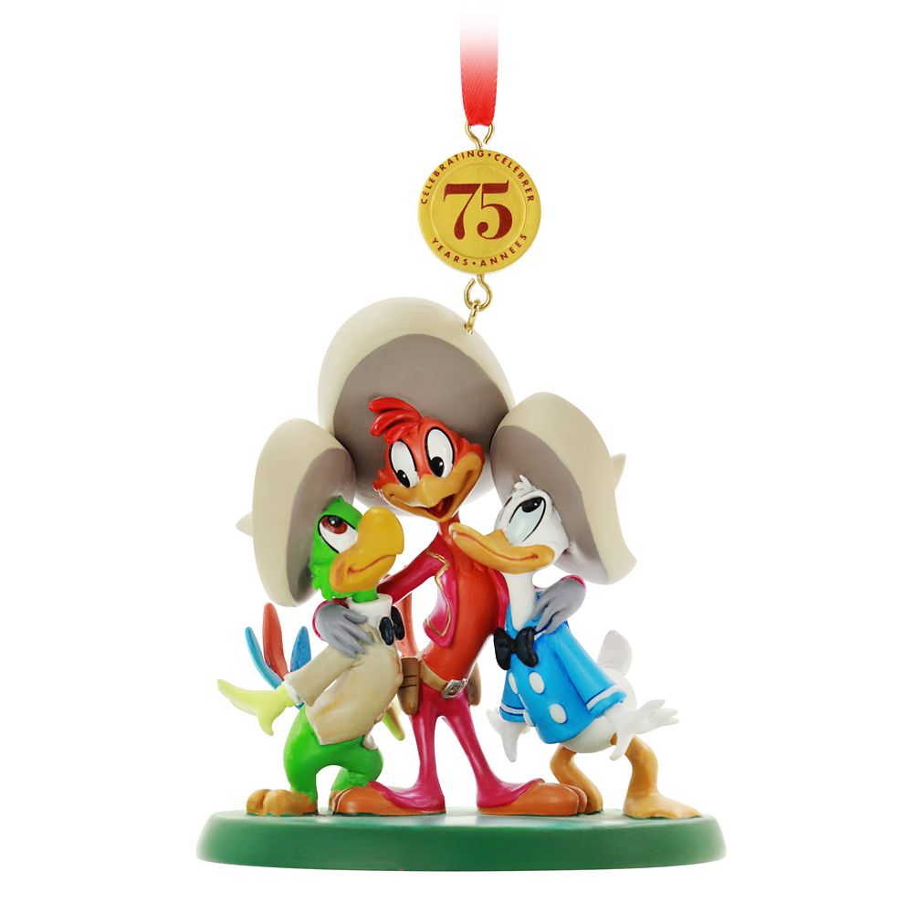 The Three Caballeros Legacy Sketchbook Ornament – 75th Anniversary – Limited Release