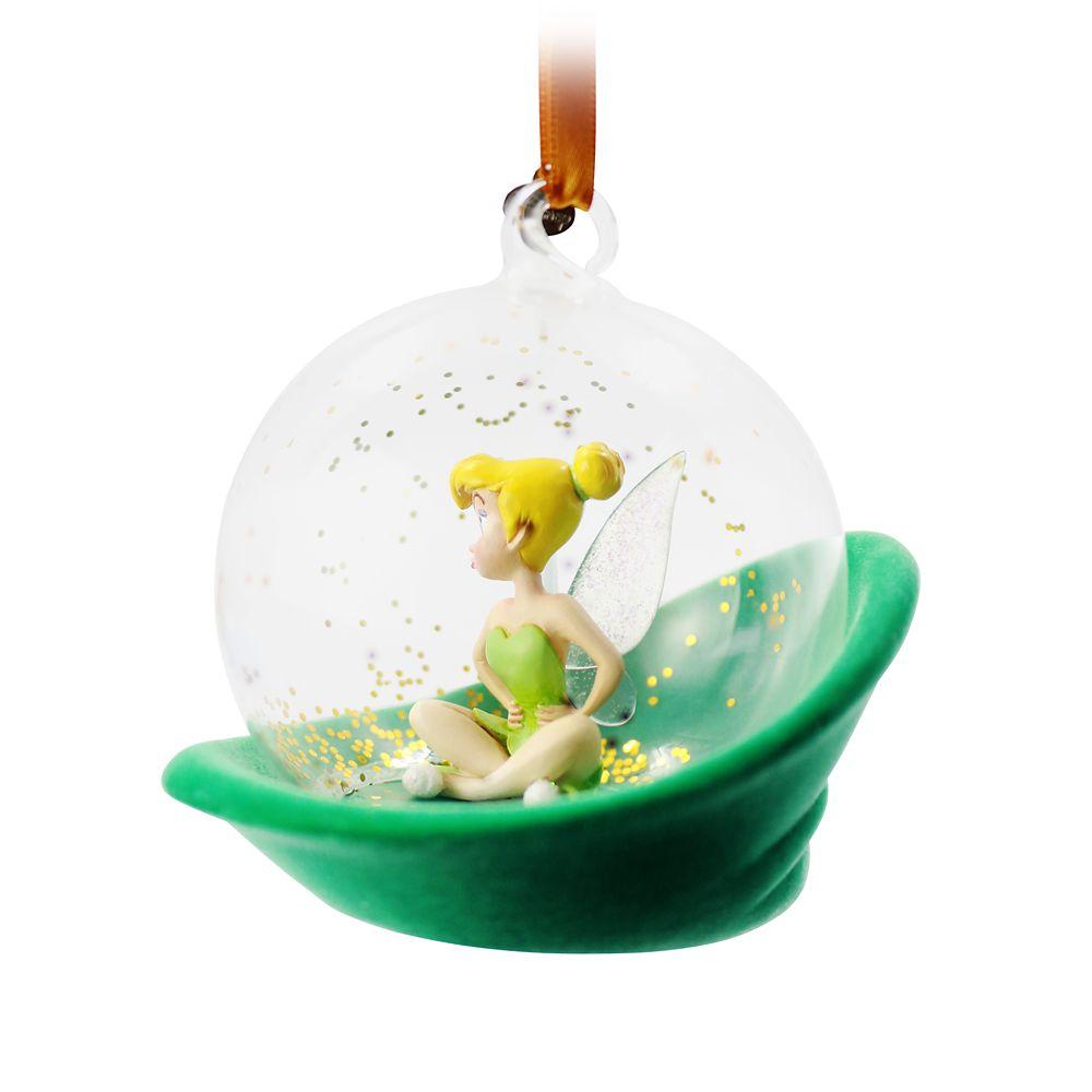 Tinker Bell Glass Globe Sketchbook Ornament