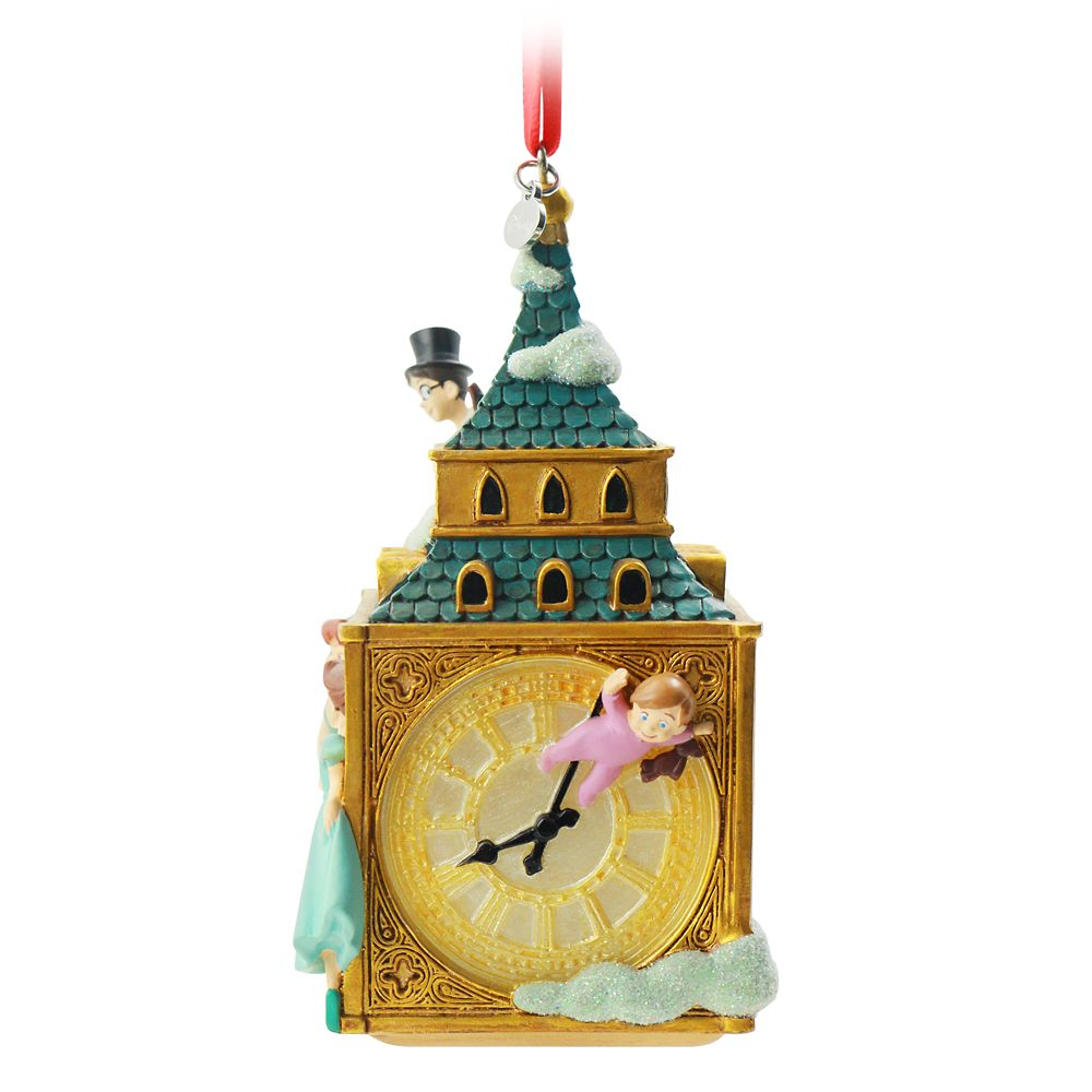 Peter Pan and Darling Children Sketchbook Ornament