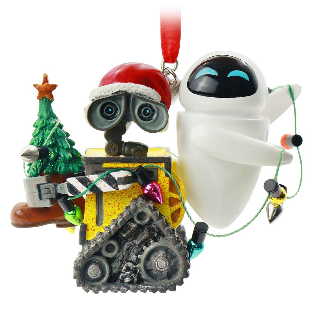 WALL•E and E.V.E. Sketchbook Ornament