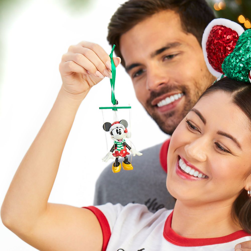 Minnie Mouse Marionette Sketchbook Ornament