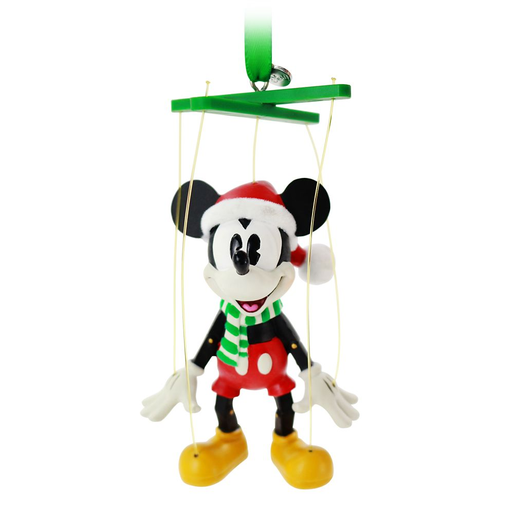 Mickey Mouse Marionette Sketchbook Ornament