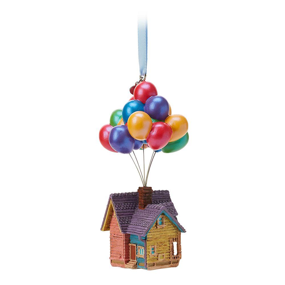 Up House Sketchbook Ornament